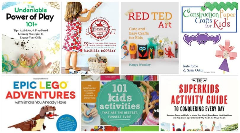 Looking for an amazing gift that your crafty kid will love?  Check out these amazing books for creative kids!