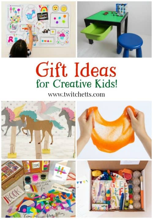Find Gifts for creative kids with this fun gift guide. From art and craft kits, toys for crafty kids, and art supplies that kids will love! Mark off the kids on your Christmas gift list or find the perfect birthday gift!