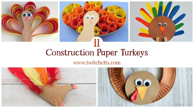 construction paper turkey Step 6: use the pattern to cut out one turkey head from brown construction paper momtasticcom is a property of totallyher media, llc, an evolve media.