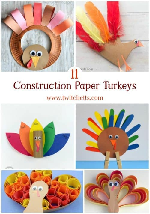 11 construction paper turkeys thanksgiving crafts for for Turkey country arts and crafts