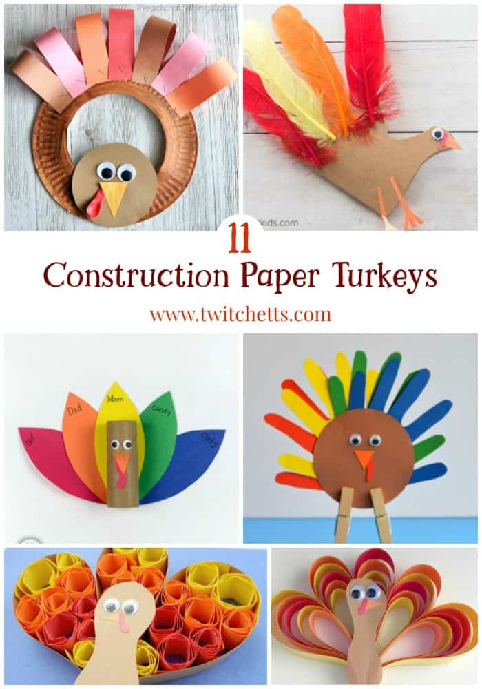 construction paper turkey Diy turkey wings: video the feathers should be rounded at the top--not pointed--and should be almost the full height of the construction paper.