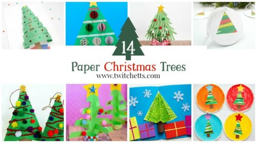 Check out these amazing construction paper Christmas trees. Get inspired to create these fun paper Christmas crafts. The perfect holiday craft for all ages!