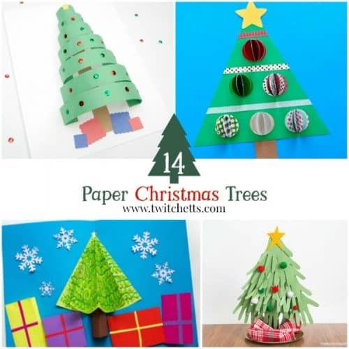 Check Out These Amazing Construction Paper Christmas Trees Get Inspired To Create Fun