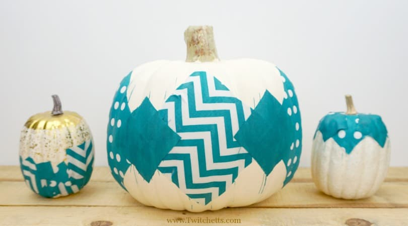 Teal Fabric Pumpkin Craft ~ Teal Pumpkin Ideas