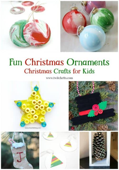 Fun Christmas ornaments for kids. Find the perfect ornament to give as a gift or hang right on your Christmas tree.