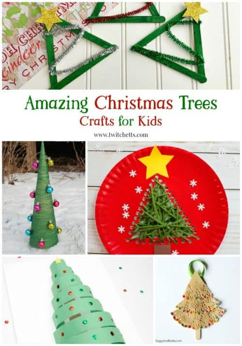 Create a fantastic Christmas tree craft with these amazing crafts for kids.