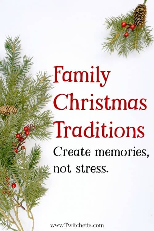 Create memories, and less stress with these fun and inspiring Christmas traditions for families.