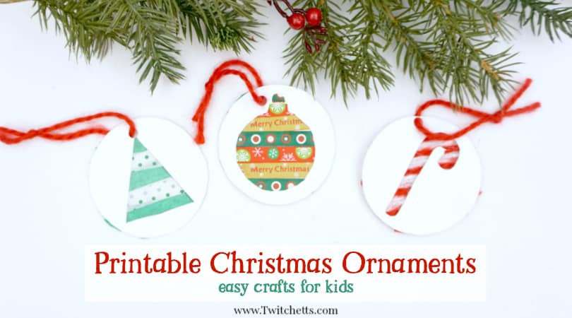 Paper Holiday Ornaments Christmas Crafts For Kids