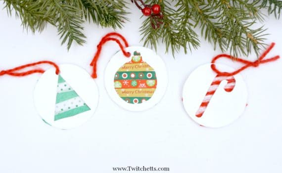 Grab our template and create these fun Christmas tree decorations. These are just 3 of the easy crafts we created with this printable.