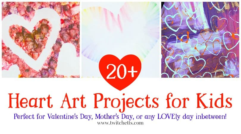 Heart Art Projects Over 20 Inspiring Valentines Day