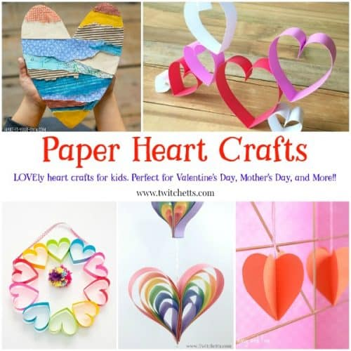 Paper Heart Crafts 19 Crafts That Are Perfect For