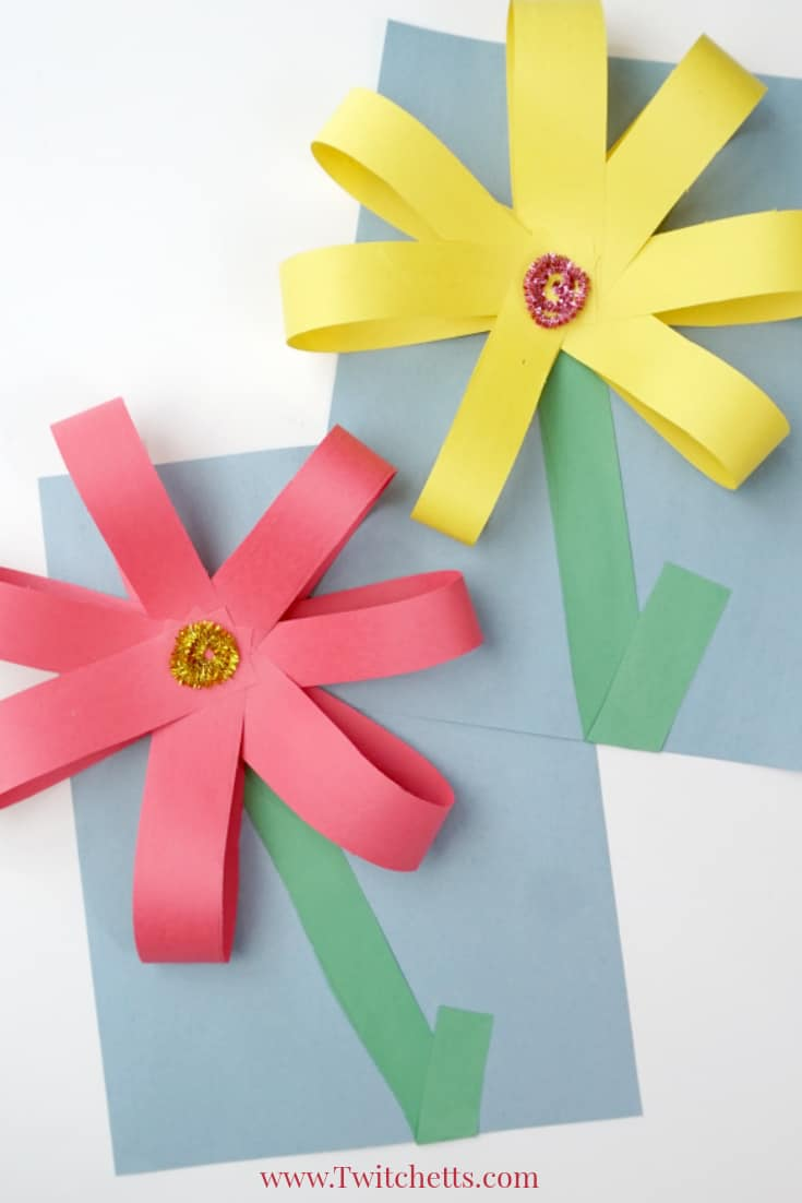 How to make a construction paper flower boatremyeaton how to make a construction paper flower how to make big flowers out of construction paper flowers healthy how to make mightylinksfo