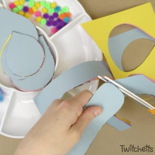 Your kids can create this easy paper butterfly when you set up an invitation to create. All it takes is some construction paper and a few other simple supplies and your kids will be ready to make their one of a kind butterfly craft.