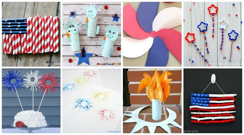 25 simple and amazing patriotic crafts for kids to make