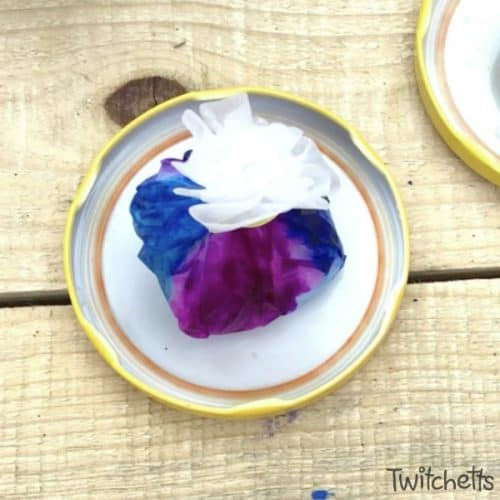 Did you know you can make amazing rocks with simple supplies? This craft uses coffee filters to create a beautiful effect. It's a perfect rock painting idea for kids!
