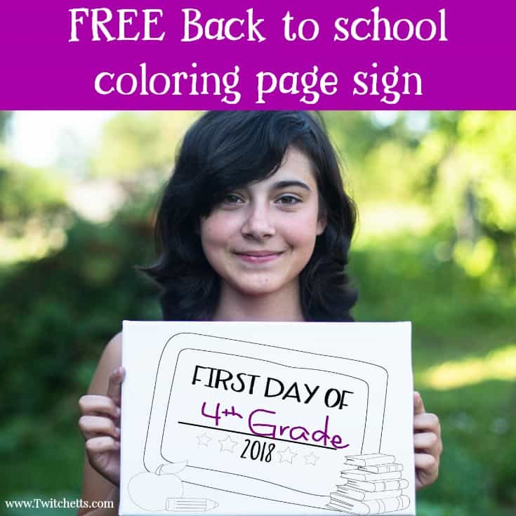 2018 printable back to school sign for fun first day photos