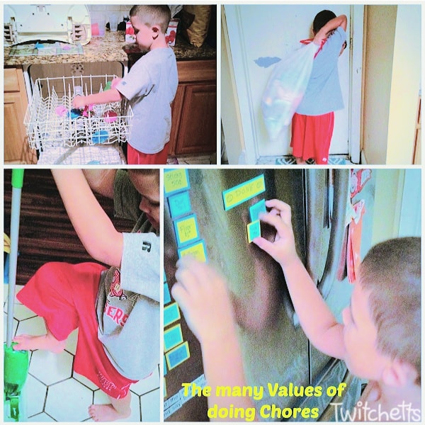 chore ideas for 6 year old kids. Easy to manage and a fun way to learn about responsibility.