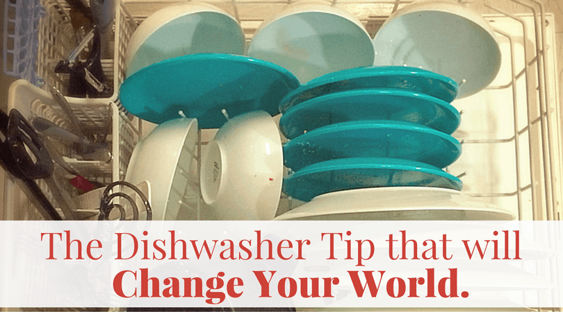 The Dishwasher Tip that will Change your world