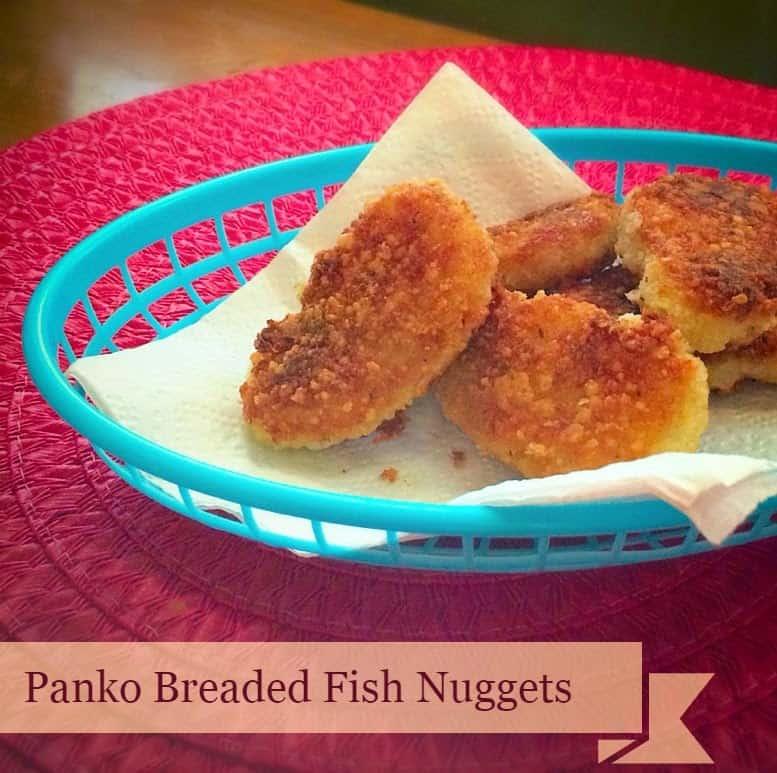 Panko Breaded Fish Nuggets – a.k.a. Fish Sticks Recipe
