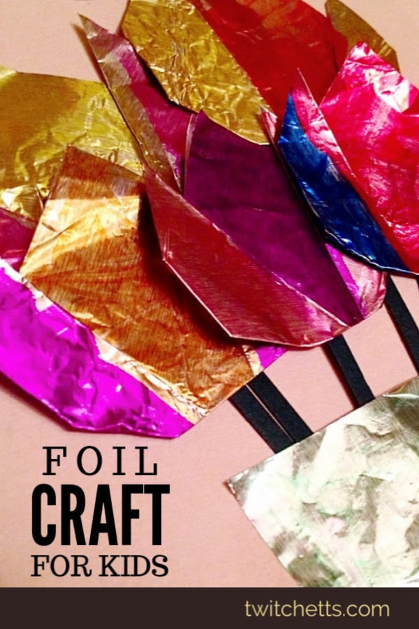 aluminium foil art and craft