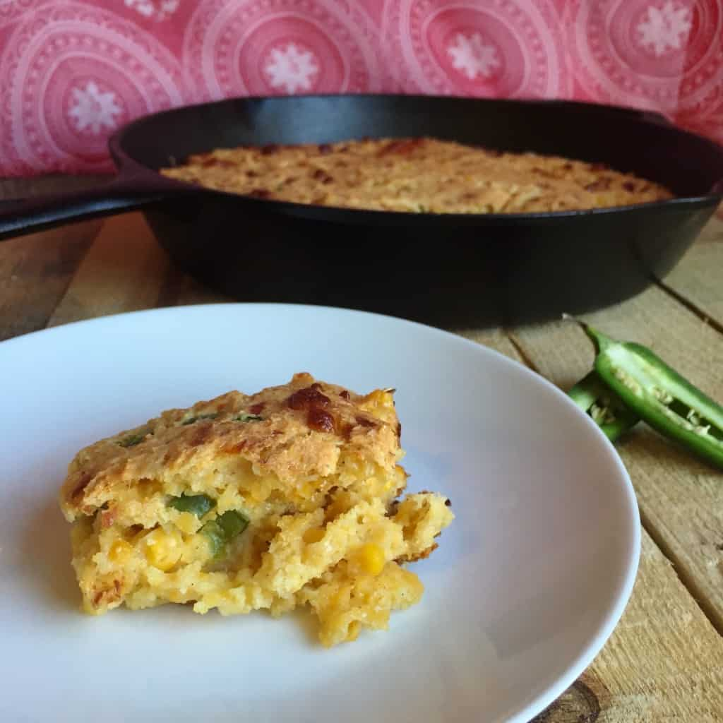 Take your CornBread Casserole up a notch this year with this yummy sweet & spicy version!