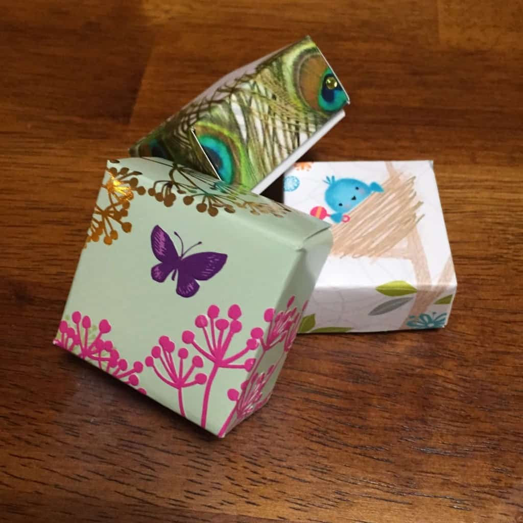 Upcycled Card Boxes Easy Upcycled Crafts For Kids Twitchetts