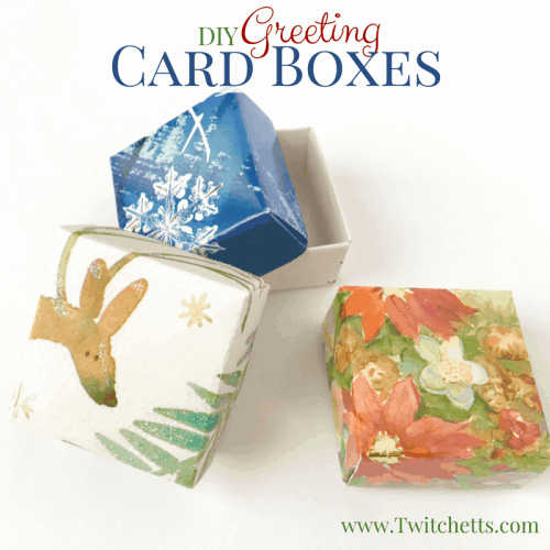 Give new life to your old greeting cards! This is a great way to upcycle cards! You can reuse Christmas cards to make cute holiday decorations too!