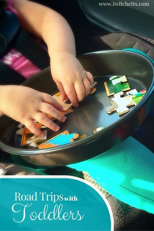 Road Trips with Toddlers. Quick ideas to keep younger children busy in long car rides.