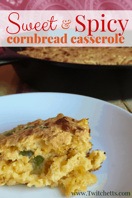 Mix up a classic and make this sweet and spicy cornbread casserole for your next meal. Make it as a Thanksgiving side dish or take it to your next BBQ!