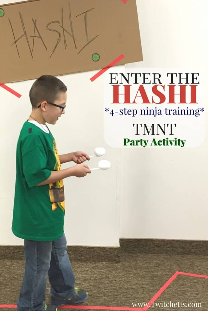 Here is an activity based of the Hashi in the most recent Teenage Mutant Ninja Turtles movie. This fun activity is full of Ninja Training.
