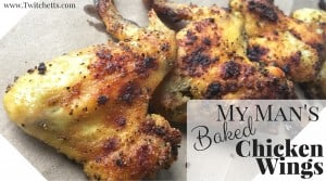 My Man's Baked Wings