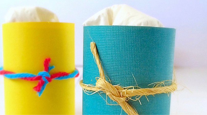 DIY Air Fresheners ~ From Toilet Paper Rolls