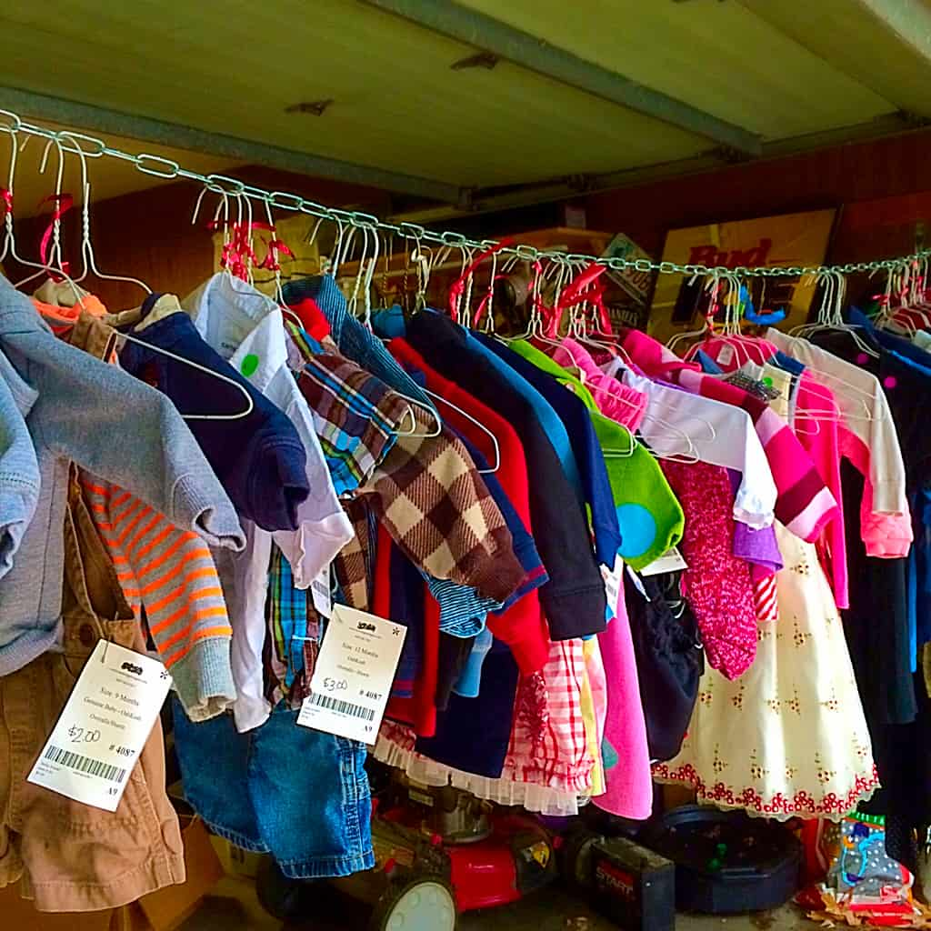10 Quick Tips for having Great Garage Sales