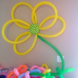 Summer Themed Birthday Celebration. Lots of fun party ideas! Balloon backdrop