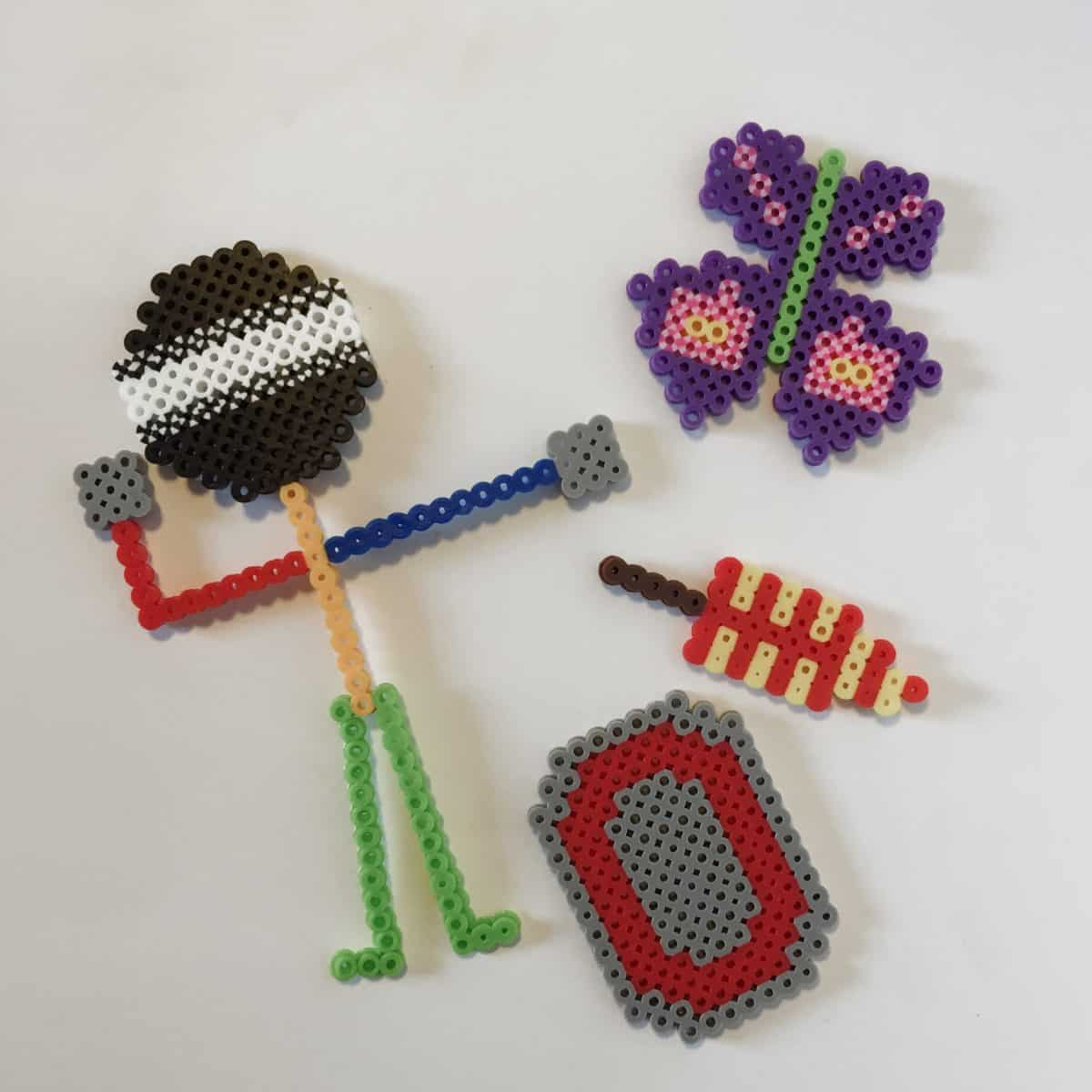 Create you own Perler Bead templates. Simple tutorial for a fun indoor activity.