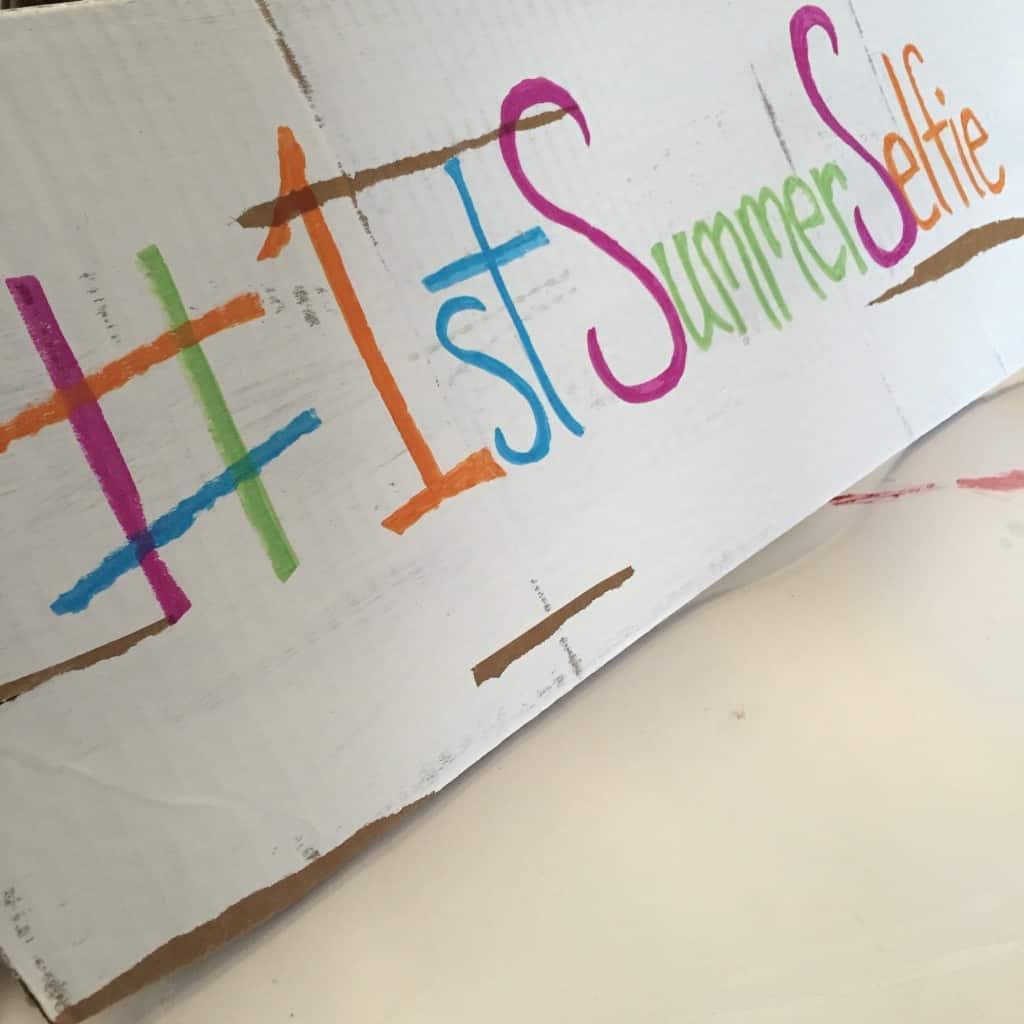 Create a fun weathered sign