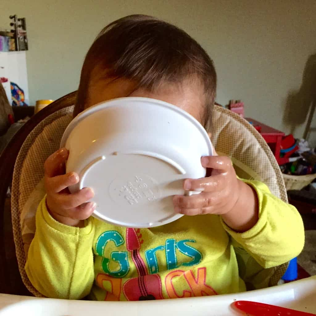 Monthly Mommy Moments ~ Toddler Taste Buds