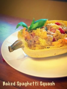 Spaghetti squash is tasty and a great substitute for pasta.