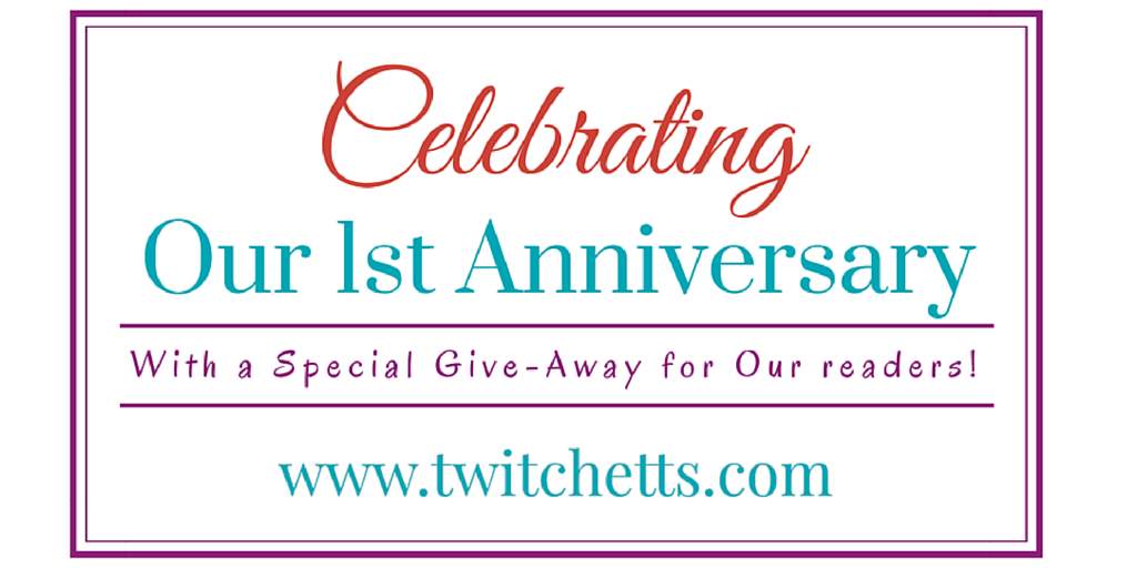 Twitchetts is One and we're having a giveaway!!