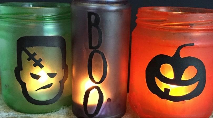 How to make fun decorative Halloween jars
