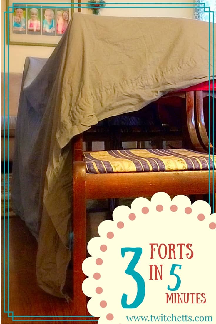 How To Build Forts In 5 Minutes Or Less Twitchetts