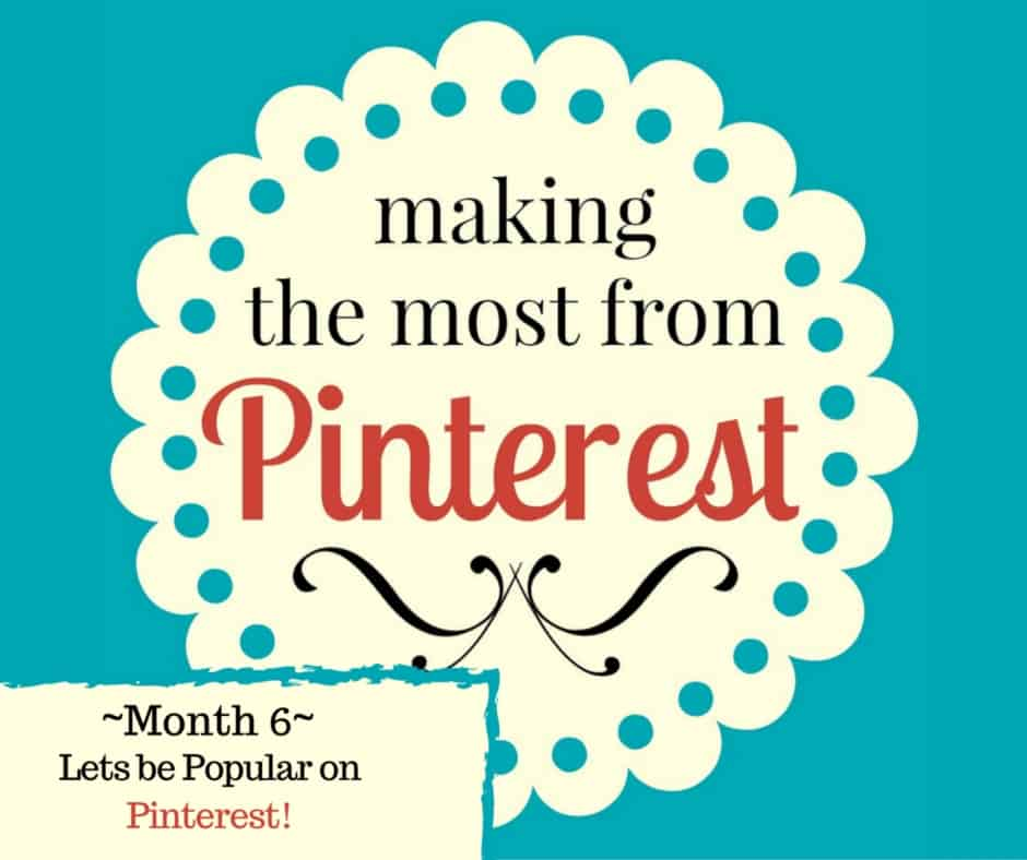 The Pin Project ~ Lets be Popular on Pinterest