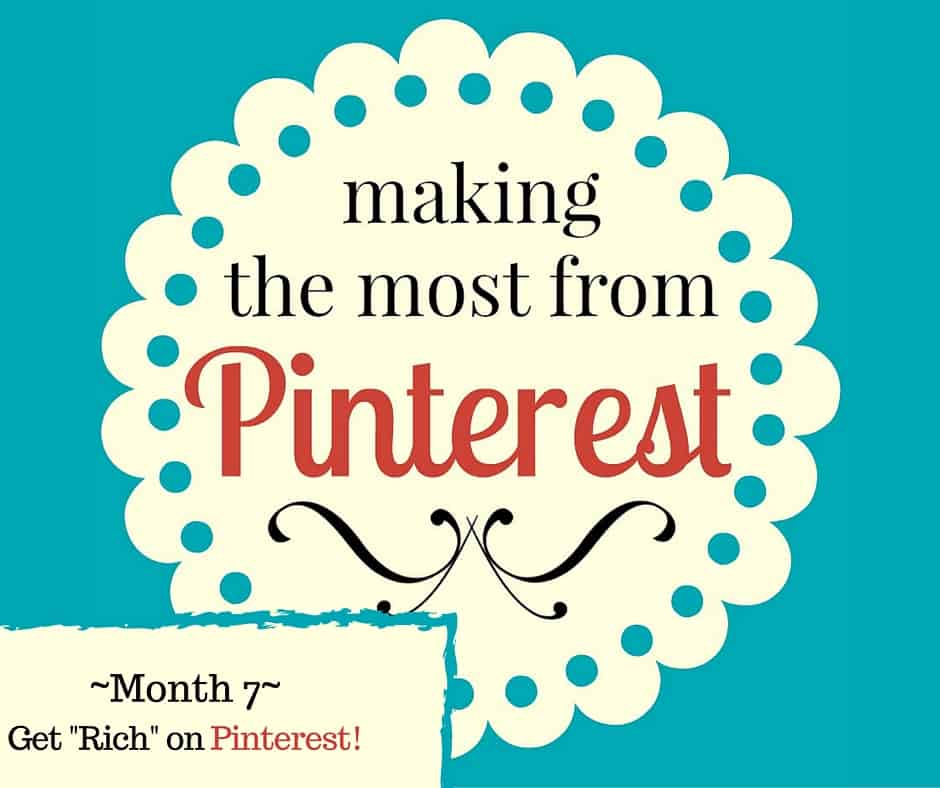 "The Pin Project ~ Get ""Rich"" on Pinterest!"