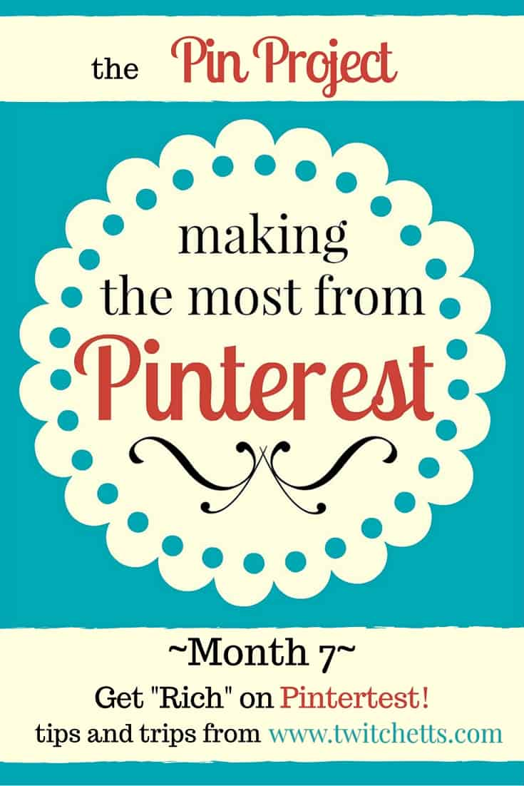 The Pin Project - get rich pins on pinterest - November 2015