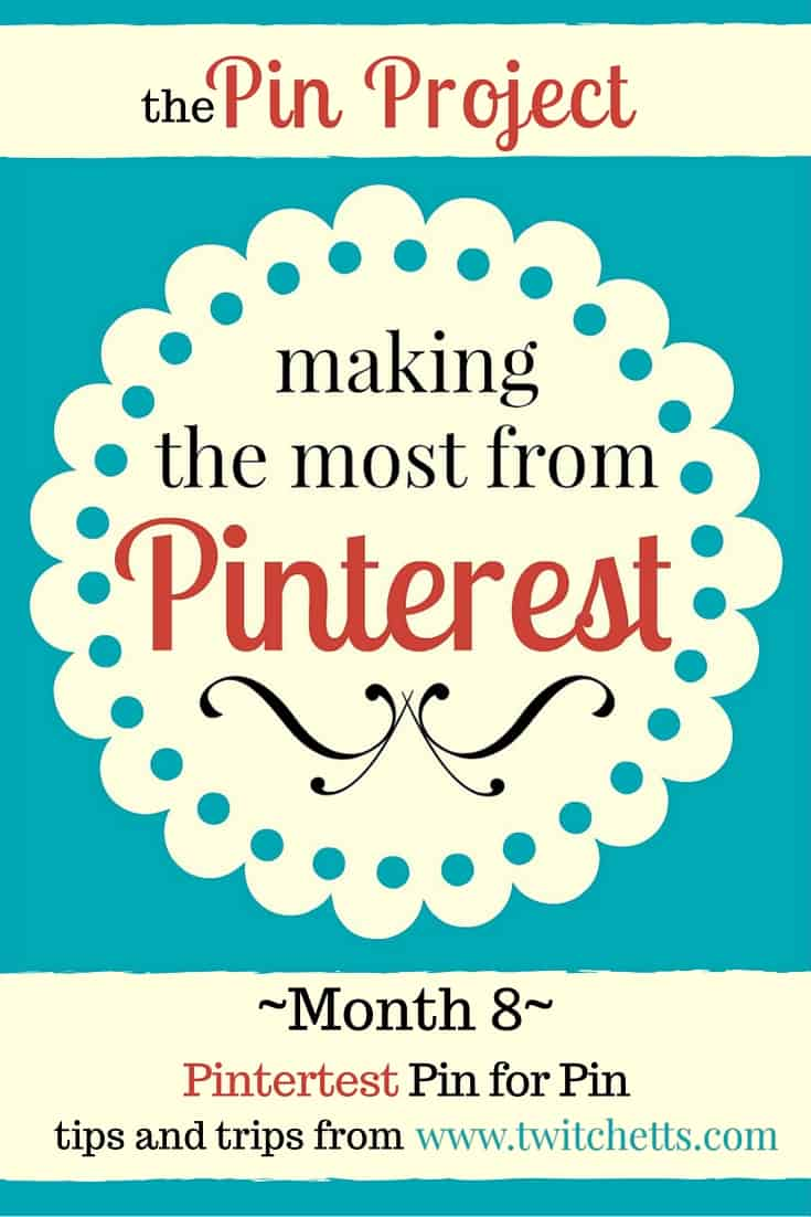 The Pin Project - Pin for Pin - December 2015 Monthly Pinterest series with tips and tricks for growing your pinterest traffic while starting from a very low number. Facebook Pin Groups