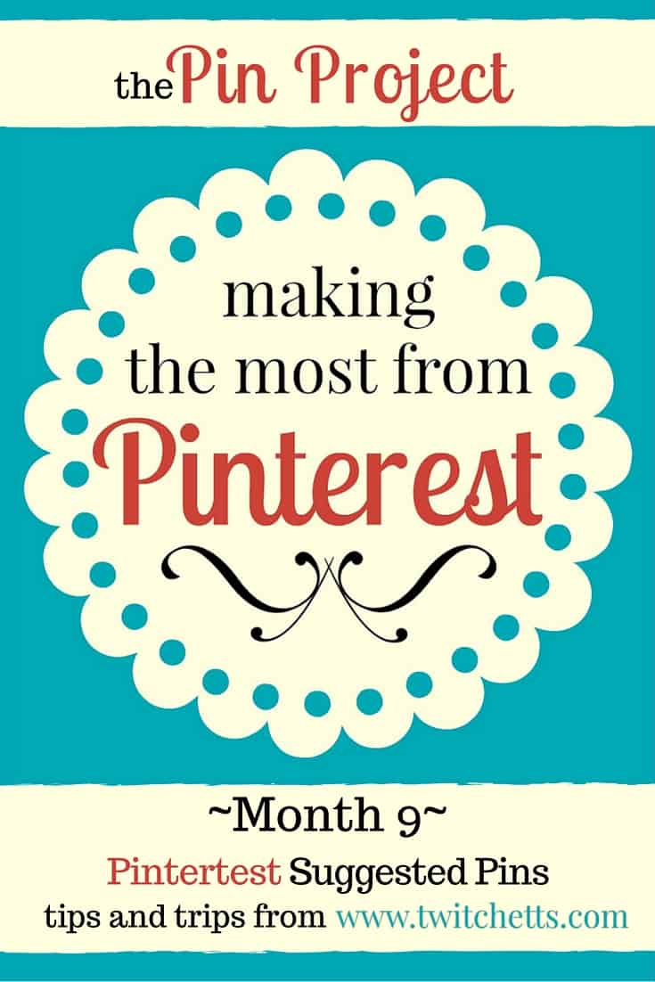 The Pin Project-Suggested Pins. What makes a suggested pin? We're breaking down a pin that was suggested on pinterest, to see if we can find some tips on making it happen again! Blogging Tips