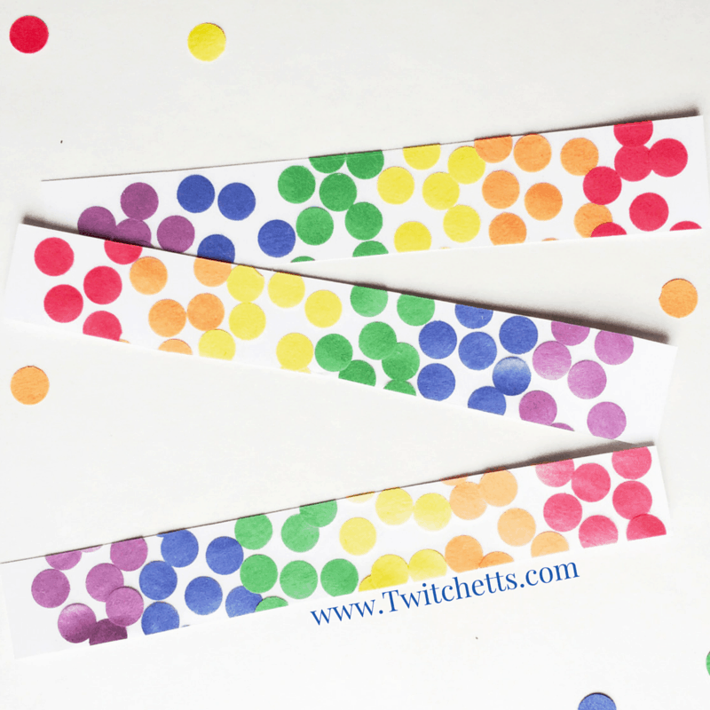 Rainbow Bookmarks Construction Paper Crafts For Kids Twitchetts