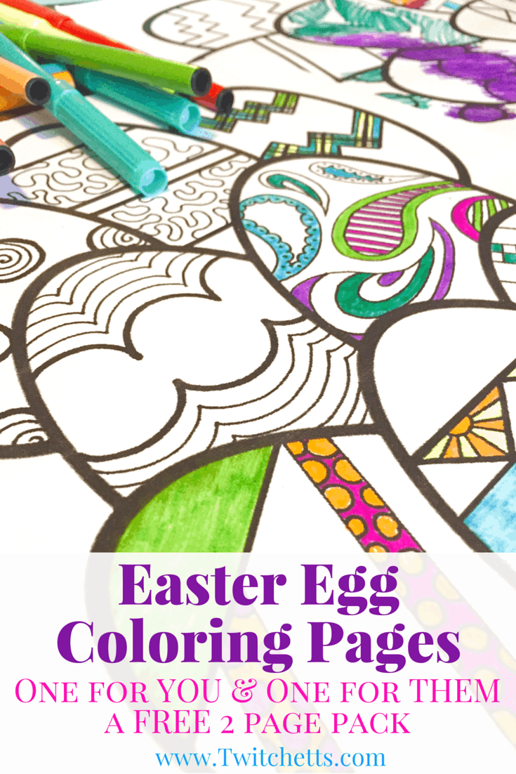 Grab these Easter Egg Coloring Pages. These Easter coloring pages are the perfect Easter activity for you and your kids. Print off these FREE Easter coloring pages as many times as you like!