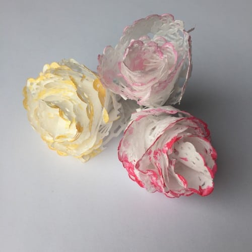 Rose Bud Doily