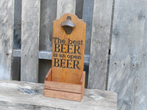 MVwoodworks-Bottle Cap Catcher